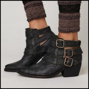 Jeffrey Campbell x Free People Buckle Ankle Boot 9